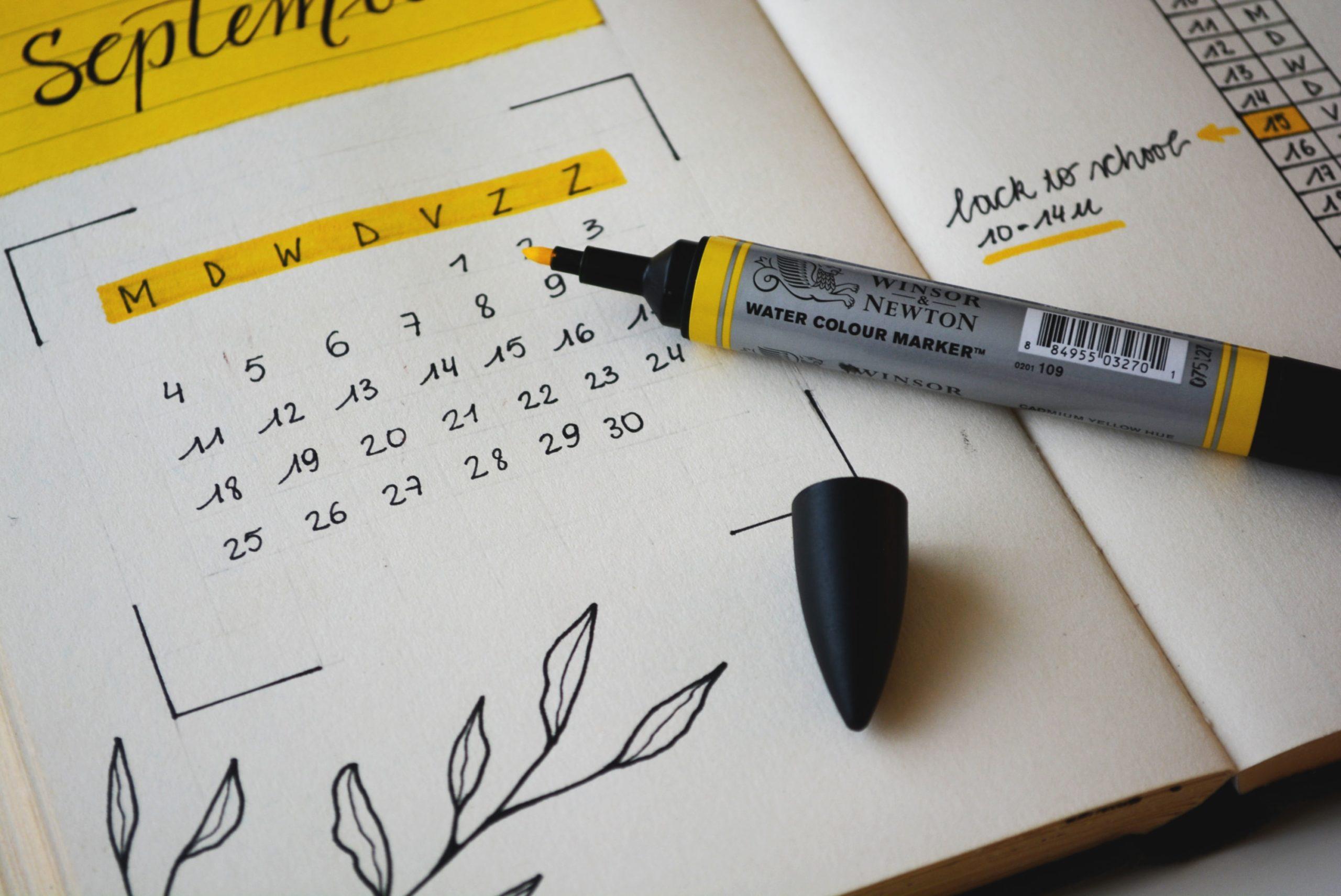 Social Media Calendar 3