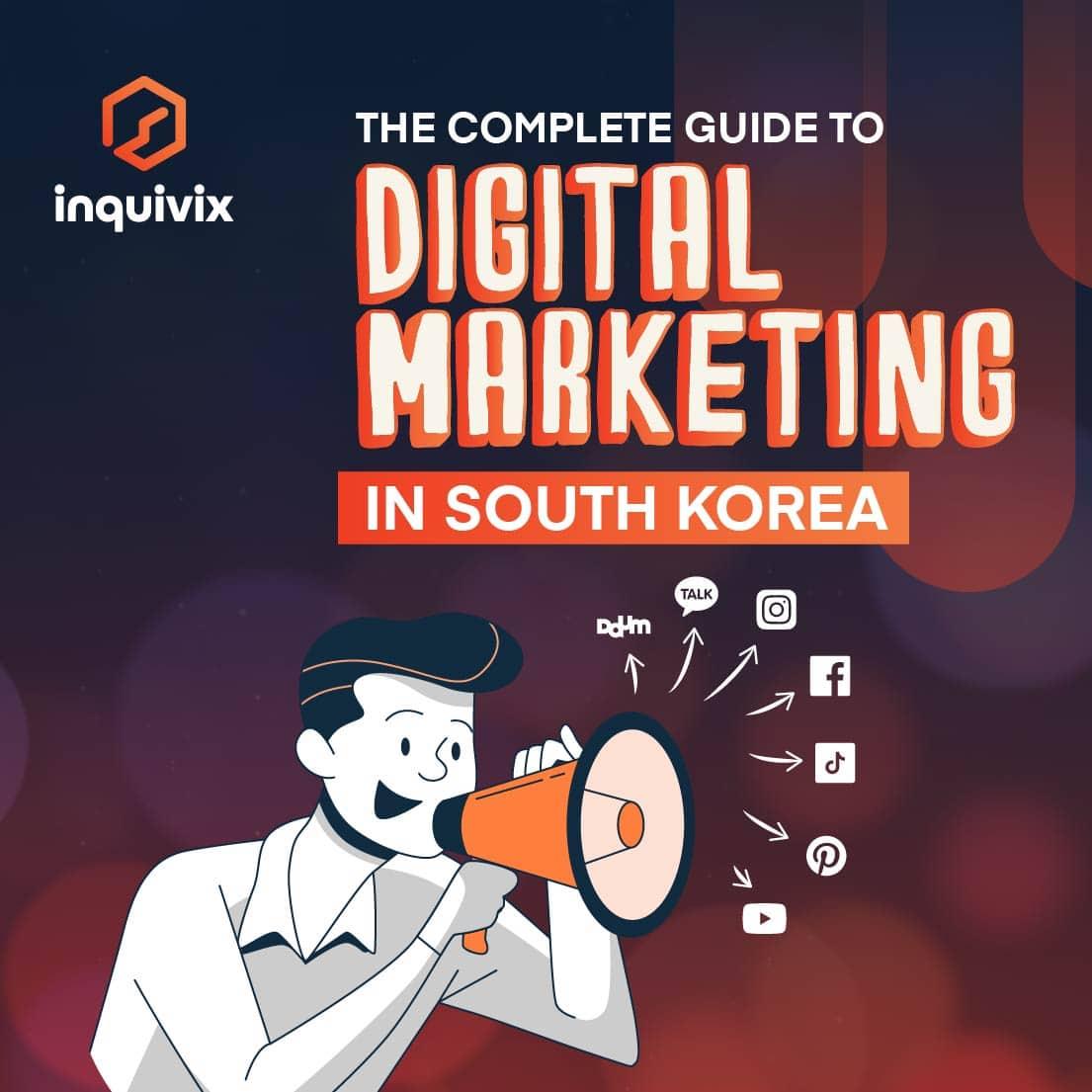 Digital marketing in south korea