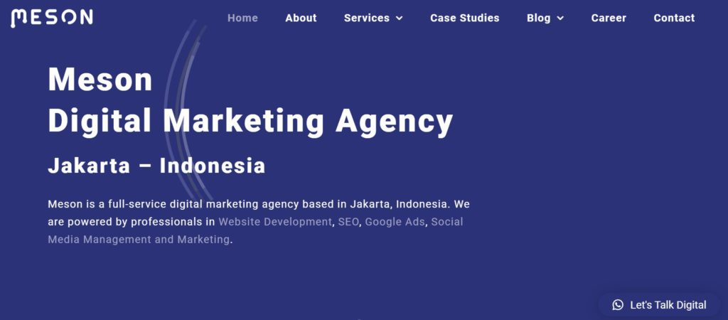 Digital marketing agencies in Indonesia -  Meson