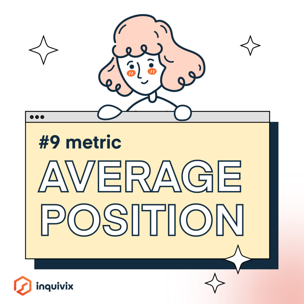 KPI PPC - Average Position